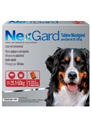 Nexgard - Antipulgas e Carrapatos para Cães de 25,1 a 50kg