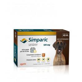 Antipulgas Simparic para cães de  40,1 a 60kg - Zoetis