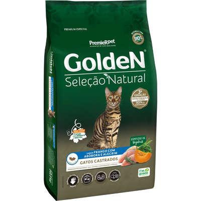 Golden seleção natural gato castrado