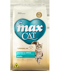 Ração Max Cat Adulto - Frango e Arroz